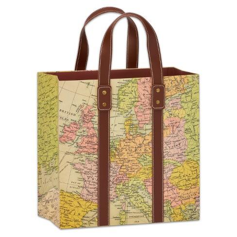 Papyrus Map Large Gift Bag
