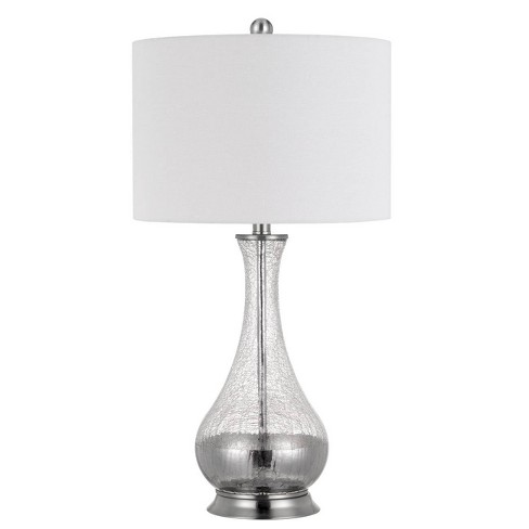 """27"""" Pair of Potenza Glass Table Lamp Clear - Cal Lighting - image 1 of 2"""