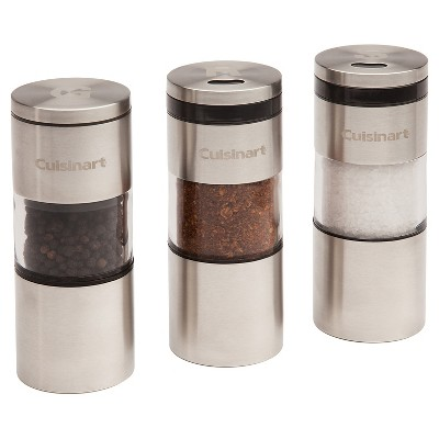 Cuisinart® 3pc Grilling Spice Shaker Set