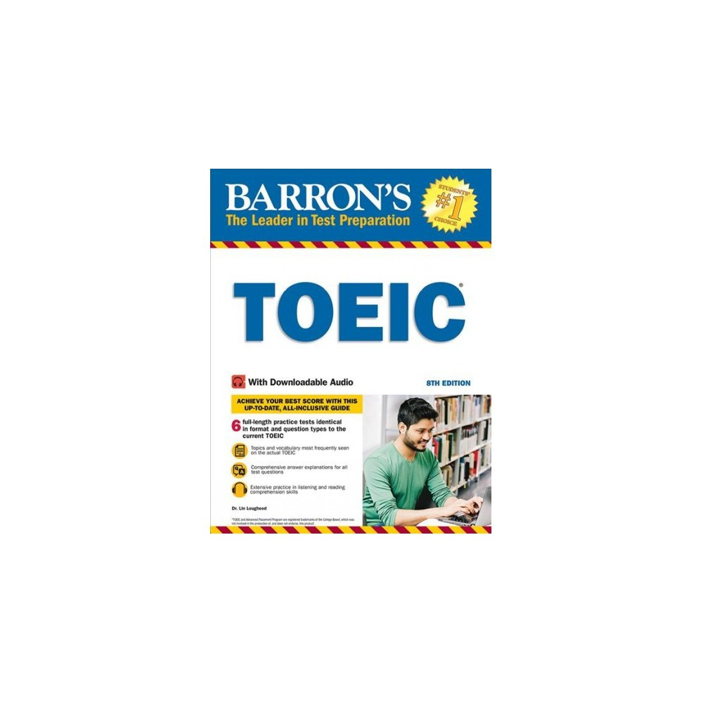 Barron's Toeic : Test of English for International Communication - 8 by Lin Lougheed (Paperback)