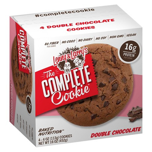 Lenny & Larry's Complete Vegan Cookie - Double Chocolate Chip - 4ct - image 1 of 1