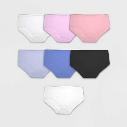 Fruit of the Loom Women's Seamless Low-Rise Briefs Underwear 6+1 Free Bonus Pack - image 1 of 2