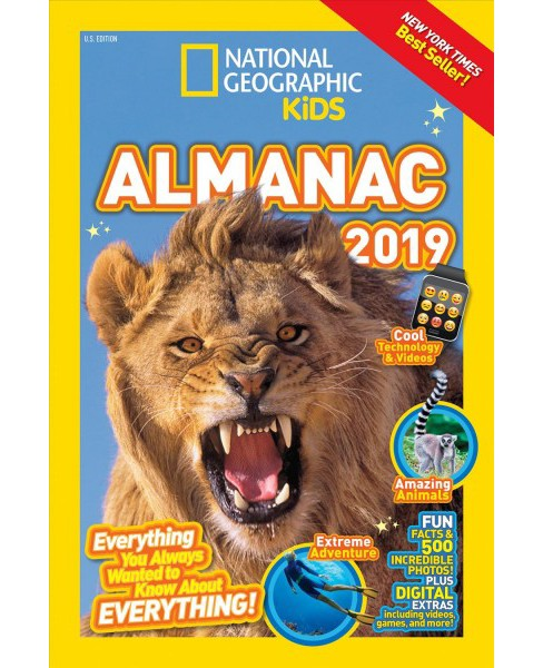 National Geographic Kids Almanac 2019 -  (National Geographic Kids Almanac) (Hardcover) - image 1 of 1