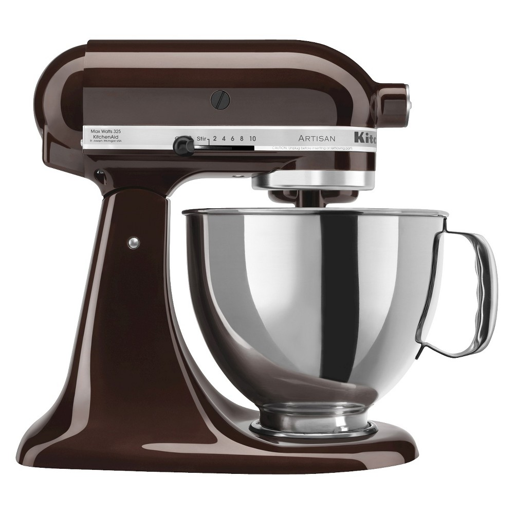 KitchenAid Artisan Series 5 Quart Tilt-Head Stand Mixer- Ksm150, Brown 13762219
