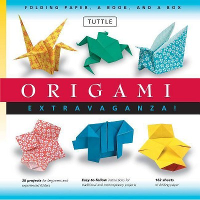 Origami Extravaganza! Folding Paper, a Book, and a Box - by  Tuttle Publishing (Mixed Media Product)