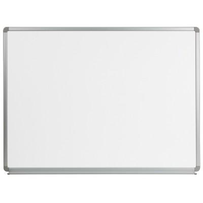 Flash Furniture 4' W x 3' H Magnetic Marker Board