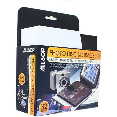 Allsop Inc. Allsop Photo Disc Storage Album | Holds Up To 32 Discs