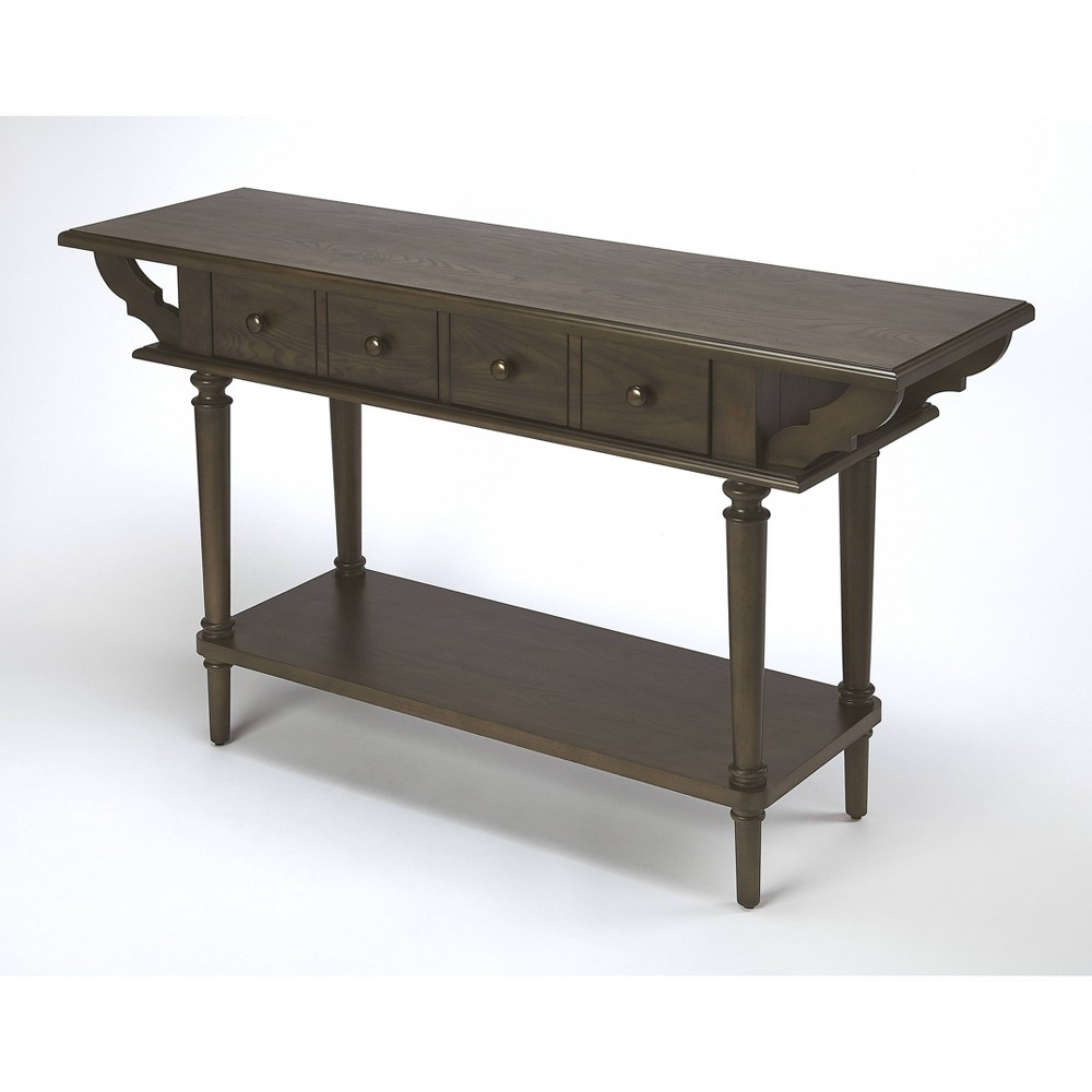 Talia Console Table Coffee Brown - Butler Specialty