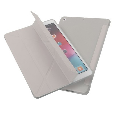 "Insten - Tablet Case for iPad Pro 10.2"" 2019 & 2020, Gen 7 & 8, Multifold Stand, Magnetic Cover Auto Sleep/Wake, Pencil Charging, Gray"