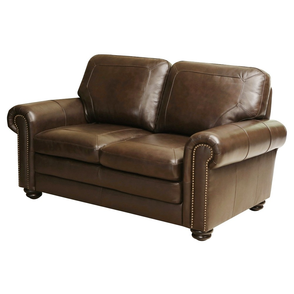 Image of 39 X 64 X 30 Loveseat - Abbyson Living, Brown