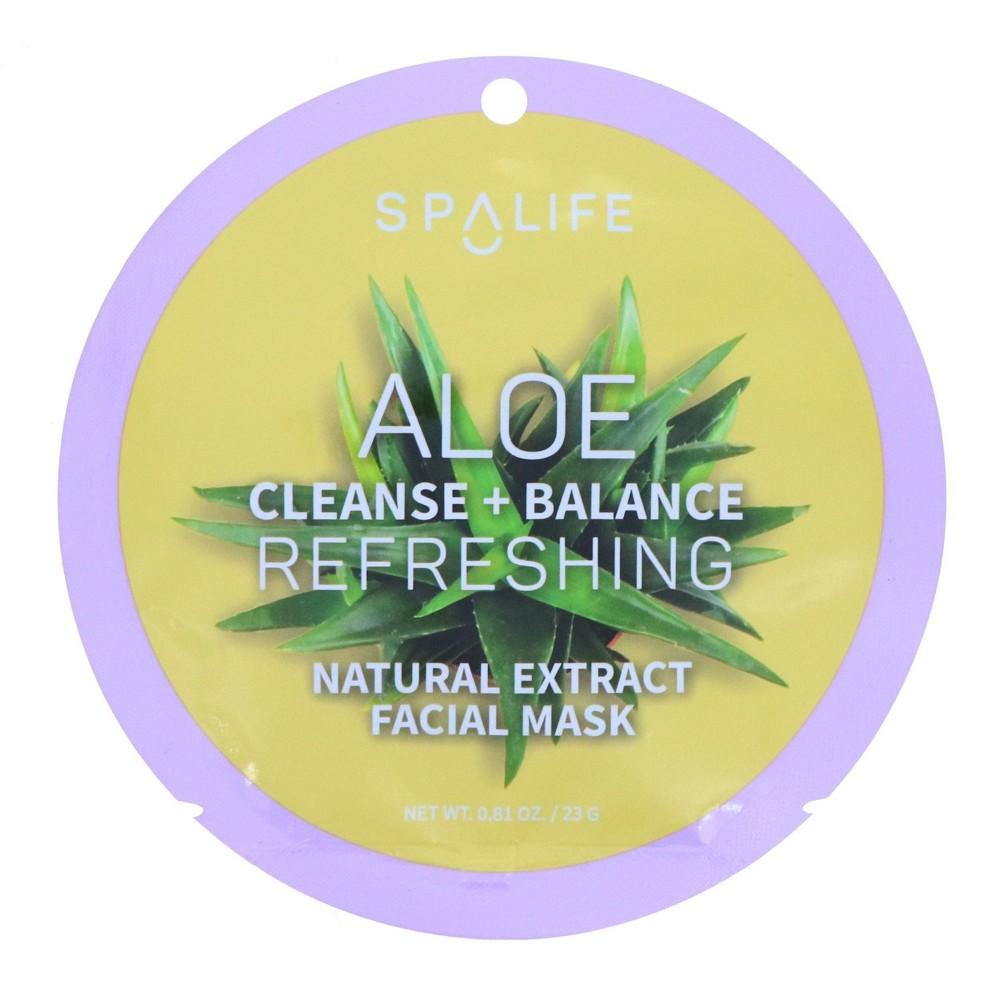 Image of SpaLife Refreshing Aloe Mask - 0.81oz