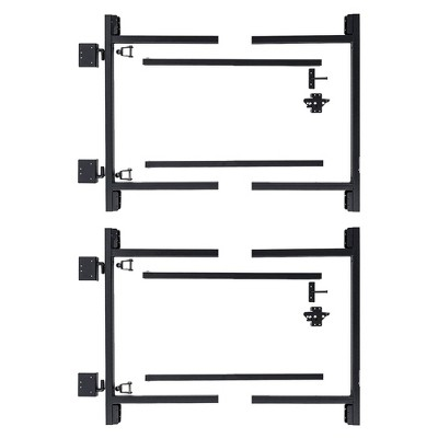 "Adjust-A-Gate Steel Frame Gate Building Kit, 36""-60"" Wide Up To 4' High (2 Pack)"