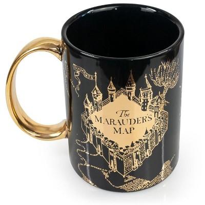 Seven20 Oversized Harry Potter Marauder's Map Ceramic Coffee Mug | Holds 64 Oz.
