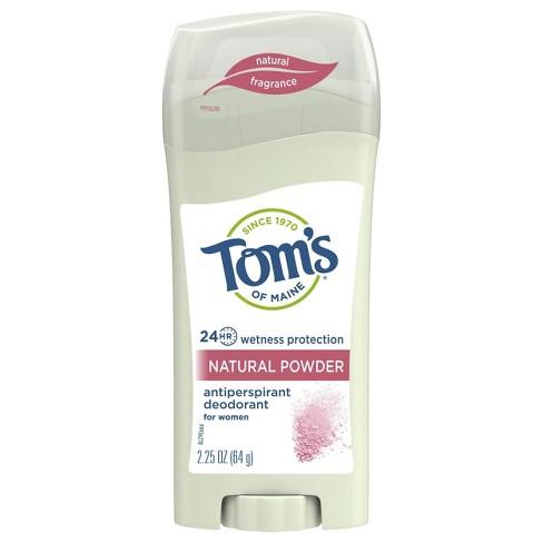 Tom's of Maine Powder Scent Antiperspirant Deodorant Stick for Women - 2.25oz - image 1 of 4