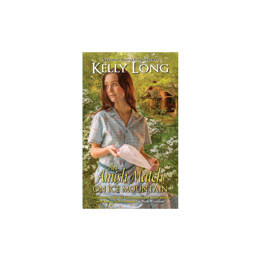 Amish Match on Ice Mountain - by Kelly Long (Paperback)