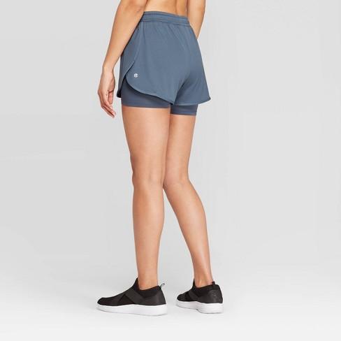 eb13674819d9 Women s Mid-Rise Knit Layered Shorts 4