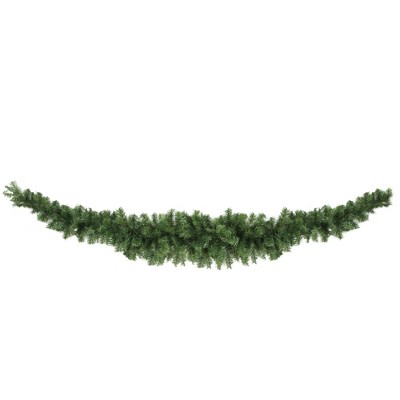 """Northlight 7' x 4"""" Unlit Canadian Pine Artificial Christmas Swag"""