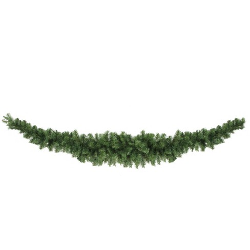 """Northlight 7' x 4"""" Unlit Canadian Pine Artificial Christmas Swag - image 1 of 2"""