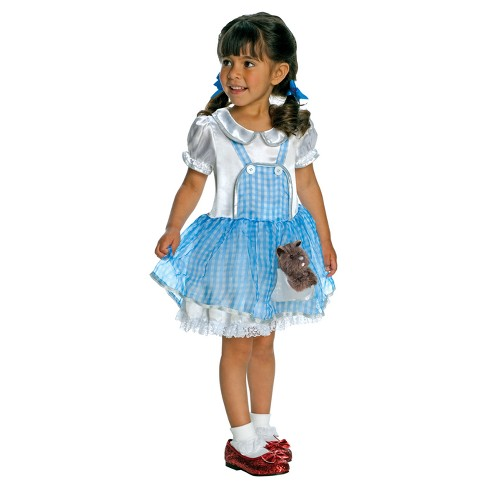 The Wizard Of Oz Girls Dorothy Costume Target