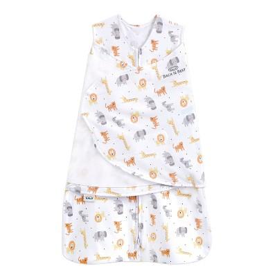HALO Sleepsack 100% Cotton Swaddle Jungle - Newborn