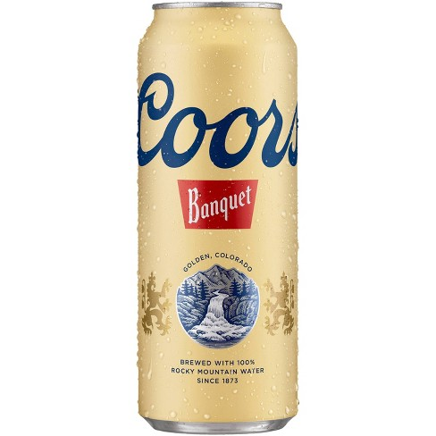 Coors Banquet Beer - 24 fl oz Can - image 1 of 1