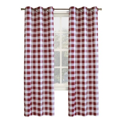Set of 2 Harwich Room Darkening Curtain Panels - Thermalogic