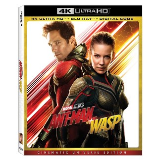 Marvels Ant Man & The Wasp (4K/UHD)
