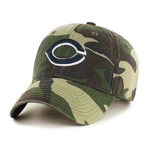 6d82eebc123b9 MLB Men s Cincinnati Reds Camouflage Cleanup Hat   Target
