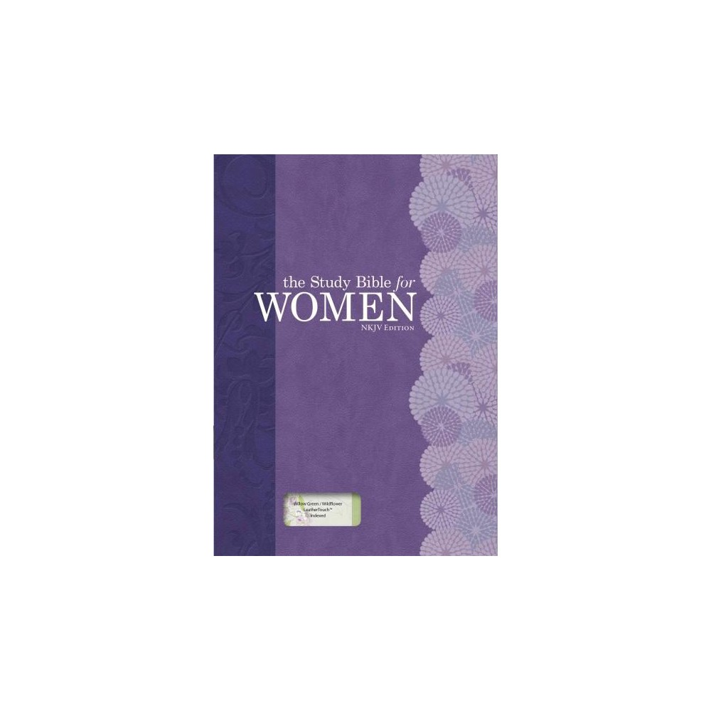 Study Bible for Women : New King James Version, Willow Green & Wildflower Leathertouch, Personal Size
