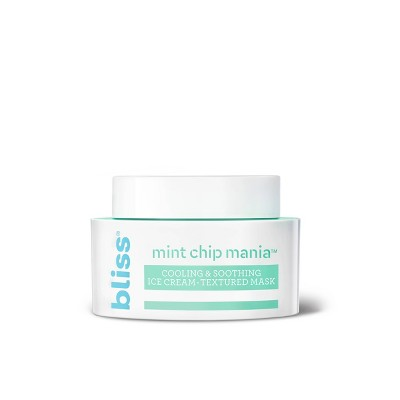 Bliss Mint Chip Mania Cooling & Soothing Face Mask - 1.7 fl oz