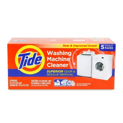 Tide High Efficiency Washing Machine Cleaner - 5ct