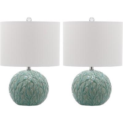 Aqua Table Lamps (Set of 2)- Safavieh®
