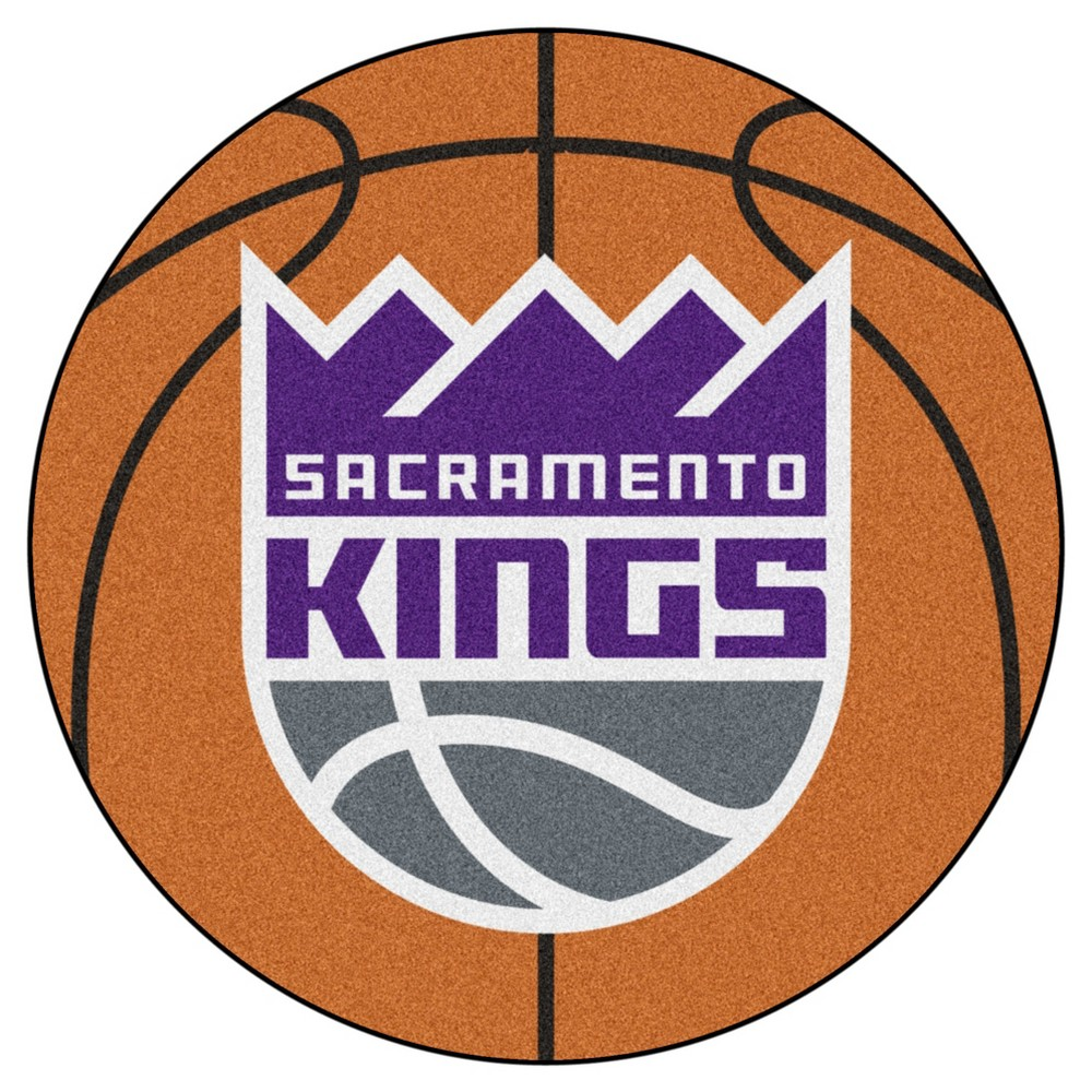 NBA Sacramento Kings Basketball Mat 27 Diameter