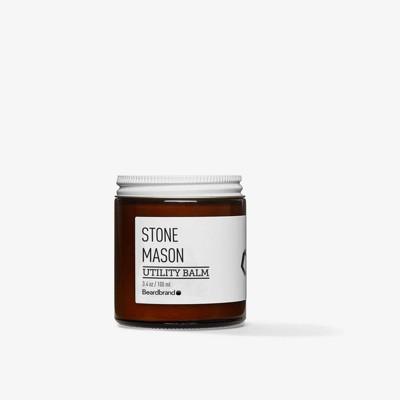 Beardbrand Stone Mason Utility Balm - 3.4oz