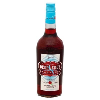 Deep Eddy Cranberry Vodka - 750ml Bottle