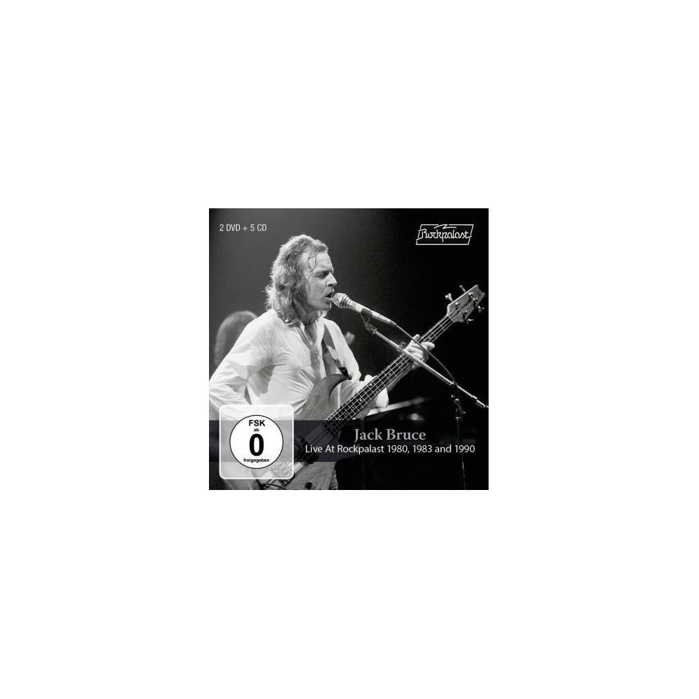 Jack Bruce - Live At Rockpalast 1980 1983 And 1990 (CD)