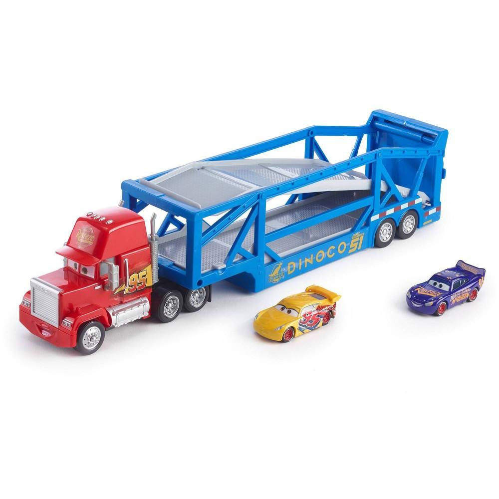 Disney Pixar Cars Launching Mack Transporter - Blue