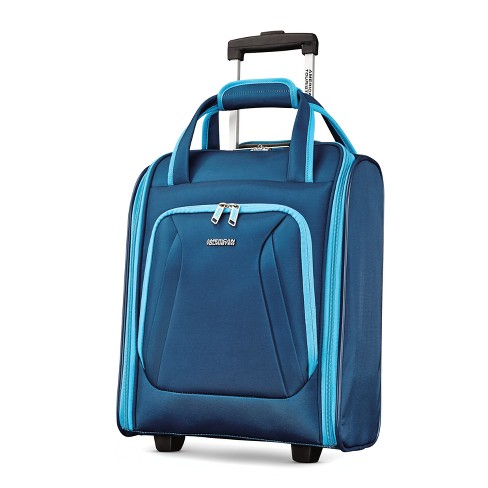 """American Tourister 16"""" Avatar Underseater Carry On Rolling Suitcase - Navy - image 1 of 4"""