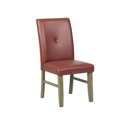 Waterford Faux Leather Side Chair - Powell Company