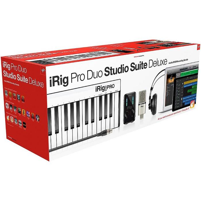 IK Multimedia iRig Pro Duo Studio Suite Deluxe - image 1 of 6