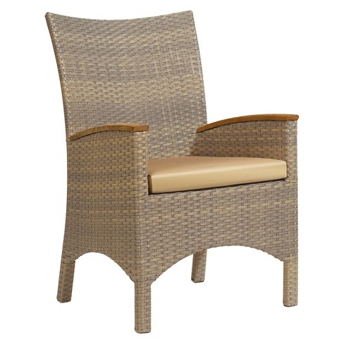 Oxford Garden Torbay Armchair Antique Wicker - Set of 2 - image 1 of 6