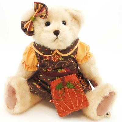 "Boyds Bears Plush 14.0"" Ella P. Patchbeary Fall Autumn Teddy Bear Pumpkin  -  Decorative Figurines"
