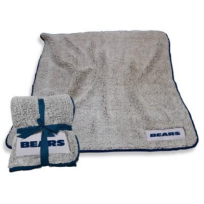 NFL Chicago Bears Frosty Fleece Throw Blanket