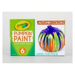 6ct 2oz Crayola Pumpkin Paint - Autumn Colors