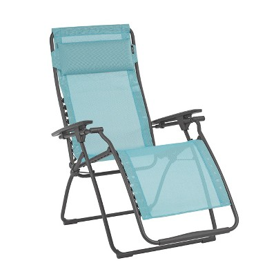 Lafuma LFM3118-8553 Futura Batyline Iso Series Relaxation Chair Recliner, Noir