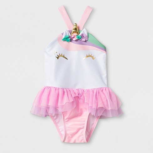 1e2efa51facdc Toddler Girls' One Piece Swimsuit With Bow - Cat & Jack™ Pink : Target