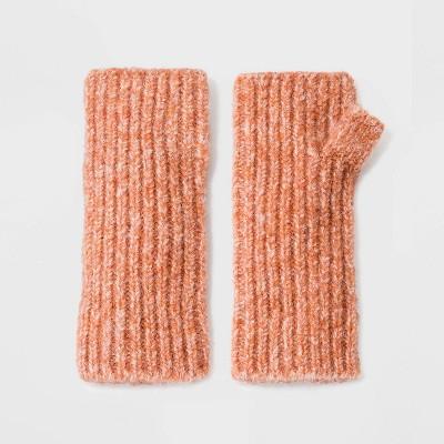 Women's Knit Fingerless Mittens - Universal Thread™