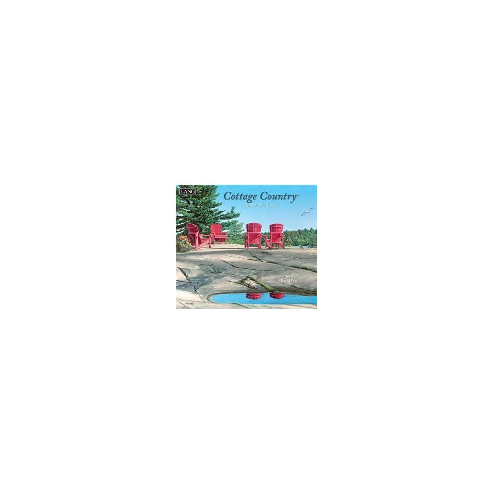 Cottage Country 2019 Calendar - (Paperback)