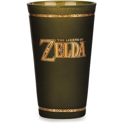 Paladone Products Ltd. The Legend of Zelda Hyrule Crest Glass