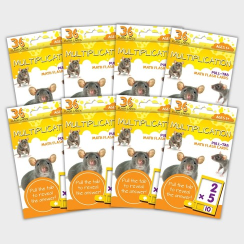8pk Multiplication Flashcards - Bendon - image 1 of 3